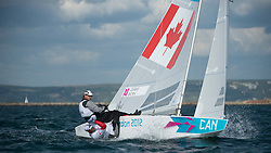 2012 Olympic Games London / Weymouth<br /> <br /> Star practice race<br /> StarCANClarke Richard, Bjorn Tyler