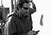 "Gavin Polone on the set of ""Ghost Town"" (Dir: David Koepp, 2008)"