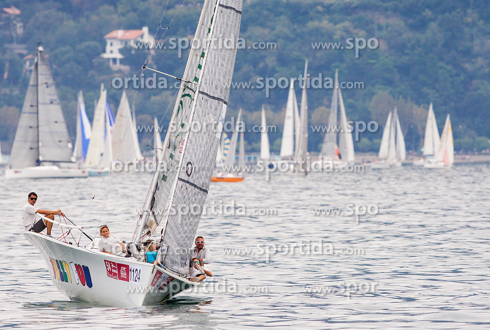 Sailboat Fuzzy Fun of Paolo Demichele and Andrea Rossetti during the North Adriatic regatta Barcolana 2014, on October 12, 2014 in Gulf of Trieste, Italy. Photo by Vid Ponikvar / Sportida.com
