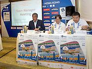 Team manager meeting Hong Kong 2016