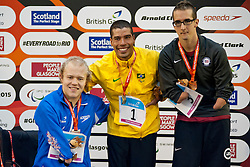 DIAS Daniel, MULLEN Andrew, PERKINS Roy BRA, GBR, USA at 2015 IPC Swimming World Championships -  Men's 200m Freestyle S5