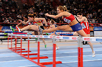ATHLETICS - INDOOR EUROPEAN CHAMPIONSHIPS PARIS-BERCY 2011 - FRANCE - DAY 1 - 04/03/2011 - PHOTO : JULIEN CROSNIER / DPPI - 60M HURDLES - CAROLIN NYTRA (GER) / WINNER - CHRISTINA VUKICEVIC (NOR)