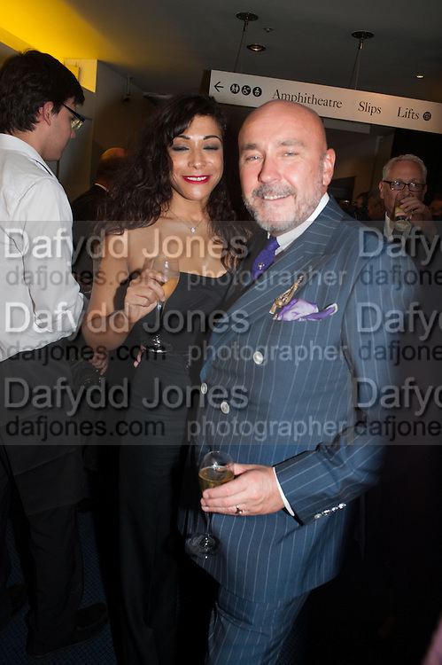 CHERISE COLLINGS; MARK POWELL, 2012 GQ Men of the Year Awards,  Royal Opera House. Covent Garden, London.  3 September 2012