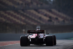 February 19, 2019 - Barcelona, Barcelona, Spain - Antonio Giovinazzi of Italy driving the (99) Alfa Romeo Racing C38 during day two of F1 Winter Testing at Circuit de Catalunya on February 19, 2019 in Montmelo, Spain. (Credit Image: © Jose Breton/NurPhoto via ZUMA Press)