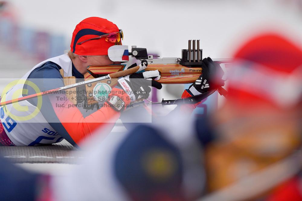 DAVIDOVICH Aleksandr, Biathlon at the 2014 Sochi Winter Paralympic Games, Russia