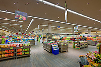 Interior photo of Safeway Store on Kent Island Maryland by Jeffrey Sauers of Commercial Photographics, Architectural Photo Artistry in Washington DC, Virginia to Florida and PA to New England