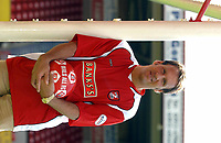 MERSON....PIC TIM EASTHOPE..14..... Pictured is soccer star Paul Merson signing for Walsall from Portsmouth