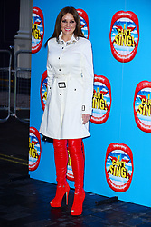 Carol Vorderman attends the press night performance of 'I Can't Sing! The X Factor Musical' at the London Palladium, London, United Kingdom. Wednesday, 26th March 2014. Picture by Nils Jorgensen / i-Images