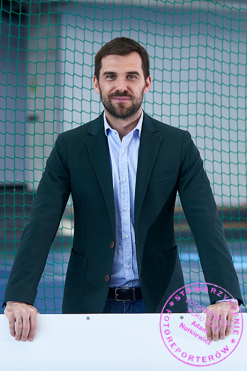 Pshychologist Pawel Habrat poses to picture during the Longines Future Tennis Aces 2015 at Tuan Tennis Club in Jozefoslaw near Warsaw on April 10, 2015.<br /> <br /> Poland, Warsaw, April 10, 2015<br /> <br /> Picture also available in RAW (NEF) or TIFF format on special request.<br /> <br /> For editorial use only. Any commercial or promotional use requires permission.<br /> <br /> Mandatory credit:<br /> Photo by &copy; Adam Nurkiewicz / Mediasport