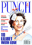 Punch (Front cover, 16 March 1990)