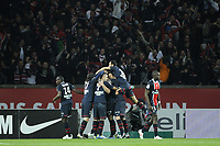 FOOTBALL - FRENCH CHAMPIONSHIP 2011/2012 - L1 - PARIS SAINT GERMAIN v OLYMPIQUE MARSEILLE - 8/04/2012 - PHOTO JEAN MARIE HERVIO / REGAMEDIA / DPPI - JOY PSG AFTER THE 2ND GOAL