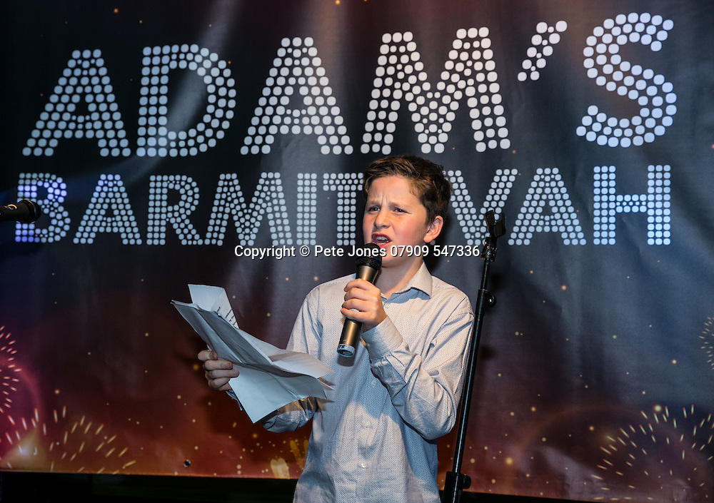 Adam's Barmitzvah;<br /> Drake &amp; Morgan's;<br /> Kings Cross, London.<br /> 5th November 2016.<br /> <br /> &copy; Pete Jones<br /> pete@pjproductions.co.uk
