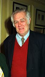 Magazine publisher MR RICHARD INGRAMS owner of the Oldie magazine, at a reception in London on 15th February 2000.OAY 8 MO