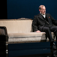 Waste by Harley Granvelle Barker;<br /> Directed by Roger Michell;<br /> Andrew Havill as Sir Gilbert Wedgecroft;<br /> Lyttelton Theatre, National Theatre, London, UK;<br /> 9 November 2015