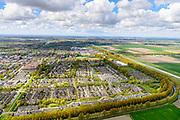 Nederland, Noord-Holland, Gemeente Haarlemmermeer, 28-04-2017; Hoofddorp, overzicht met Weg om de Noord.<br /> Overview Hoofddorp.<br /> luchtfoto (toeslag op standard tarieven);<br /> aerial photo (additional fee required);<br /> copyright foto/photo Siebe Swart