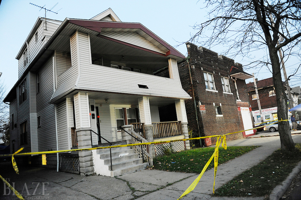 The home of Anthony Sowell at 12205 Imperial Avenue in Cleveland on Wednesday November 4, 2009. Police have discovered as many as 11 bodies in the home...
