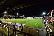The Checkatrade.com stadium before the Sky Bet League 2 match between Crawley Town and Northampton Town at the Checkatrade.com Stadium, Crawley, England on 24 November 2015. Photo by David Charbit.