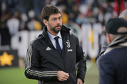 May 19, 2019 - Turin, Turin, Italy - Andrea Agnelli during the serie A match between Juventus FC and Atalanta BC at Allianz Stadium on May 19, 2019 in Turin, Italy. (Credit Image: © Giuseppe Cottini/NurPhoto via ZUMA Press)