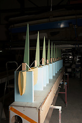 Switzreland, Yverdon construction of the Mirabaud LX concept sailing boat. Wing designed by Thomas Jundt and build at MB Composites by Mathias Bavaud