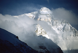 Jan 29, 2008 - Pangboche, Khumbu, Nepal - The Tibetan name for Mount Everest is Chomolungma and the related Chinese name Zhumulangma Feng are not as widely used as the western name of the world's tallest mountain, standing at an elevation of 8,844.43 meters. PICTURED: the North side, pictured on May, 17, 2003 (Credit Image: Serac Adventure Films/ZUMAPRESS.com)