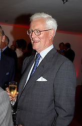 LORD HURD at a party to celebrate the UK launch of Diana:The Portrait, the authorised book about the late Princess Of Wales's life and work, held at the National Portrait Gallery, London on 1st September 2004.  The book was commissioned by The Diana, Princess of Wales Memorial Fund and writen by Ros Coward.