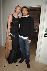 Model  JADE PARFITT and TOBY BURGESS at a party hosted by Jasper Conran to launch his 2 new fragrances 'Mister' & 'Mistress' at his store at 36 Sackville Street, London W1 on 17th September 2007.<br />