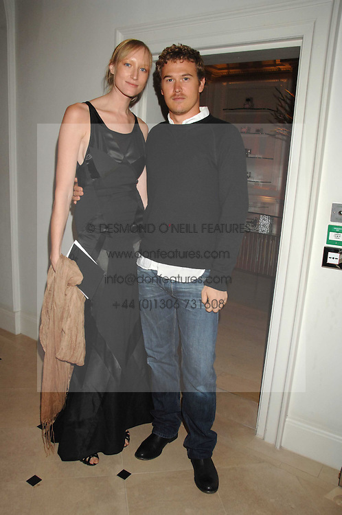 Model  JADE PARFITT and TOBY BURGESS at a party hosted by Jasper Conran to launch his 2 new fragrances 'Mister' & 'Mistress' at his store at 36 Sackville Street, London W1 on 17th September 2007.<br /><br />NON EXCLUSIVE - WORLD RIGHTS
