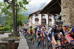 Ashleigh Moolmann-Pasio (RSA) of Cervélo-Bigla Cycling Team reaches Axpe mid-pack during Stage 1 of the Emakumeen Bira - a 50 km road race, starting and finishing in Iurreta on May 16, 2017, in Basque Country, Spain.