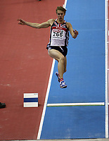 Photo: Rich Eaton.<br /> <br /> EAA European Athletics Indoor Championships, Birmingham 2007. 03/03/2007. Chris Tomlinson of Great Britain competes in the mens long jump