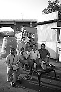 Salesmen near holy site of Godavari River - Nashik, India