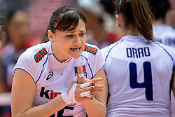 17-05-2016 JAP: OKT Dominicaanse Republiek - Italie, Tokio<br /> Italië verslaat Dominicaanse Republiek  met 3-0 / Antonella Del Core #15 of Italie
