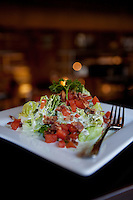 Wedge Salad at Bailey's Range in downtown St. Louis, MO.