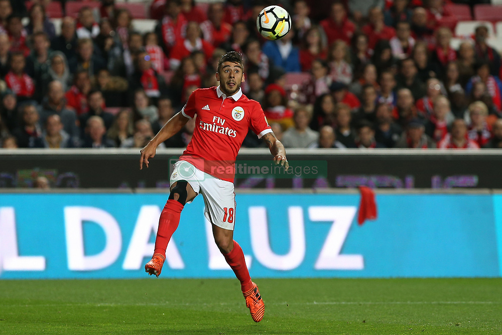 November 26, 2017 - Lisbon, Lisbon, Portugal - Benficas forward Toto Salvio from Argentina during the Premier League 2017/18 match between SL Benfica and FC Vitoria Setubal, at Luz Stadium in Lisbon on November 26, 2017. (Credit Image: © Dpi/NurPhoto via ZUMA Press)