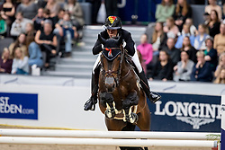 PATTEET Gudrun (BEL), Sea Coast Valdelamadre Clooney <br /> Göteborg - Gothenburg Horse Show 2019 <br /> Gothenburg Trophy presented by VOLVO<br /> Int. jumping competition with jump-off (1.55 m)<br /> Longines FEI Jumping World Cup™ Final and FEI Dressage World Cup™ Final<br /> 06. April 2019<br /> © www.sportfotos-lafrentz.de/Stefan Lafrentz