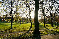 the Meadows park in Edinburgh, Scotland, United Kingdom