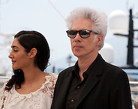 Actress Golshifteh Farahani and Director Jim Jarmusch at the Paterson film photo call at the 69th Cannes Film Festival Monday 16th May 2016, Cannes, France. Photography: Doreen Kennedy