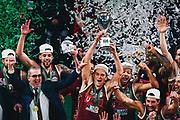 ILCE-9M2 • FE 400mm F2.8 GM OSS<br /> f/3.5 • ISO 2000 • 1/1000<br /> <br /> Umana Reyer Venezia - Happy Casa Brindisi<br /> LBA Final Eight 2020 Zurich Connect - Finale<br /> Basket Serie A LBA 2019/2020<br /> Pesaro, Italia - 16 February 2020<br /> Foto Mattia Ozbot / CiamilloCastoria