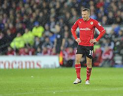 Cardiff City's Craig Bellamy - Photo mandatory by-line: Joe Meredith/JMP - Tel: Mobile: 07966 386802 03/11/2013 - SPORT - FOOTBALL - The Cardiff City Stadium - Cardiff - Cardiff City v Swansea City - Barclays Premier League