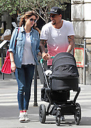 Kevin Prince-Boateng & Melissa Satta With Baby