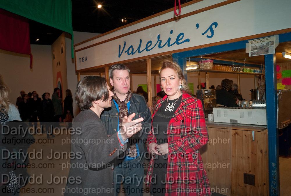 JEREMY DELLER; DANIEL SCOTT; CAROLINE BUTLER, Jeremy Deller, Joy in People, Hayward Gallery, Southbank Centre. London. 21 February 2012.