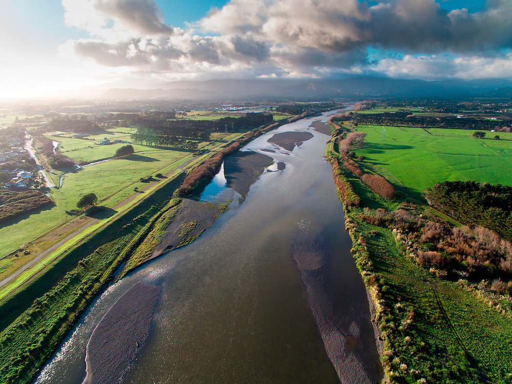 Otaki River, Kapiti Coast, New Zealand