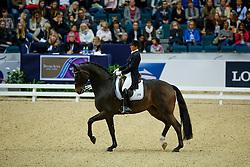 Vilhelmson Silfven Tinne, (SWE), Don Auriello<br /> Grand Prix<br /> Reem Acra FEI World Cup Dressage - Goteborg 2016<br /> © Hippo Foto - Dirk Caremans<br /> 25/03/16