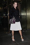 Sept. 8, 2014 - New York, NY, USA - <br /> <br /> Zac Posen Fashion Show<br /> <br /> Uma Thurman attending the Zac Posen Fashion Show in New York City on September 8, 2014<br /> ©Exclusivepix