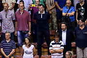 DESCRIZIONE : Trieste Nazionale Italia Uomini Torneo internazionale Italia Serbia Italy Serbia<br /> GIOCATORE : Zoran Savic<br /> CATEGORIA : Tifosi Vip<br /> SQUADRA : Italia Italy<br /> EVENTO : Torneo Internazionale Trieste<br /> GARA : Italia Serbia Italy Serbia<br /> DATA : 05/08/2014<br /> SPORT : Pallacanestro<br /> AUTORE : Agenzia Ciamillo-Castoria/Max.Ceretti<br /> Galleria : FIP Nazionali 2014<br /> Fotonotizia : Trieste Nazionale Italia Uomini Torneo internazionale Italia Serbia Italy Serbia