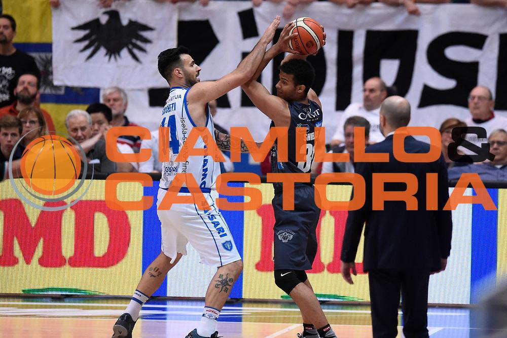 Shields Shavon<br /> Quarti di Finale Gara 2<br /> Legabasket A 2016,2017<br /> Trento 14,05,2017<br /> Foto Ciamillo-Castoria,GiulioCiamillo