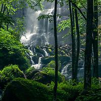 Chiprovtsi Waterfall in Balkan Mountains