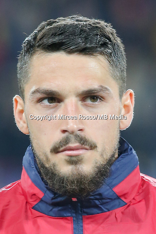 CLUJ-NAPOCA, ROMANIA, MARCH 26: Romania's national soccer player Nicolae Stanciu pictured before the 2018 FIFA World Cup qualifier soccer game between Romania and Denmark, on March 26, at Cluj Arena Stadium, in Cluj-Napoca, Romania. (Photo by Mircea Rosca/Getty Images)
