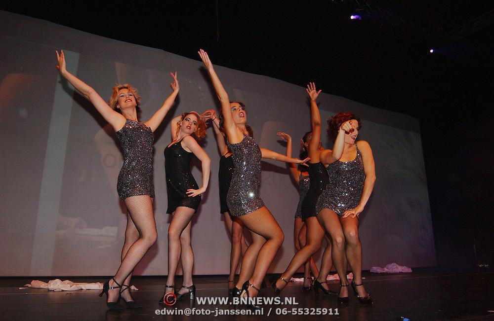 Coiffure Awards 2003, danseressen, show