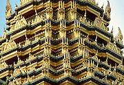 Detail of the Grand Palace, Bangkok, Thailand