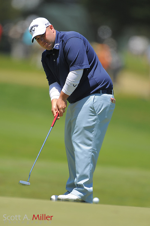 Colt Knost during the second round of the 112th U.S. Open at The Olympic Club on June 15, 2012 in San Fransisco. ..©2012 Scott A. Miller